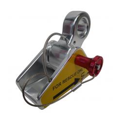 Fallskydd linlås för ResQ räddningsutrustning
