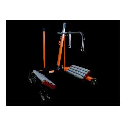 Hydraulisk hjullyft, Bahco, för jordbruksmaskiner, 1,5 ton