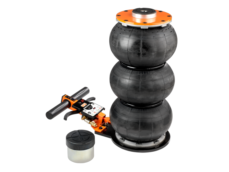 Toppen Domkraft, Bahco, lufthydraulisk, 2 ton, max. höjd 550 mm - Norrmark YX-71