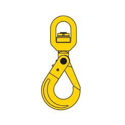 Säkerhetskrok - lekande, 1,12 ton, 6 mm, klass 8