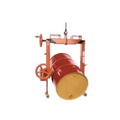 Fatlyftare 400 kg, tiltfunktion, grepp 380 - 600 mm, trucklyft