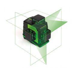 Elma Laser X360, tre 360˚ linjer, Robust IP54, Li-Ion-batteri