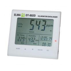 Elma DT-802D - CO2-monitor, mätning av luftkvalitet