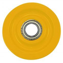 Linhjul 1000 kg, kullagrat, D=125 mm