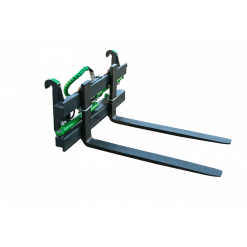 Hydraulisk lyftgaffel till frontlastare 1500 kg, Zettelmeyer