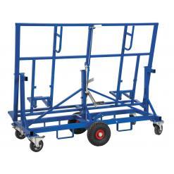 Skivvagn, justerbar, 500 kg