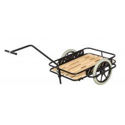 Dragkärra 150 kg, punkteringsfria hjul
