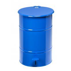 Avfallstunna 30L, fotpedal, blå